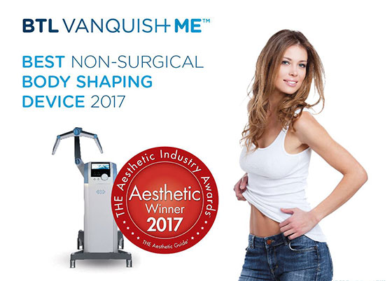 Permanently Get Rid of Fat with BTL Vanquish Me™ Body Contouring